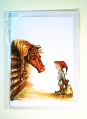 Bildresultat för tomte + häst